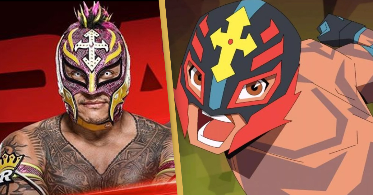 Rey Mysterio To Star In New Animated Series For Cartoon Network Unilad