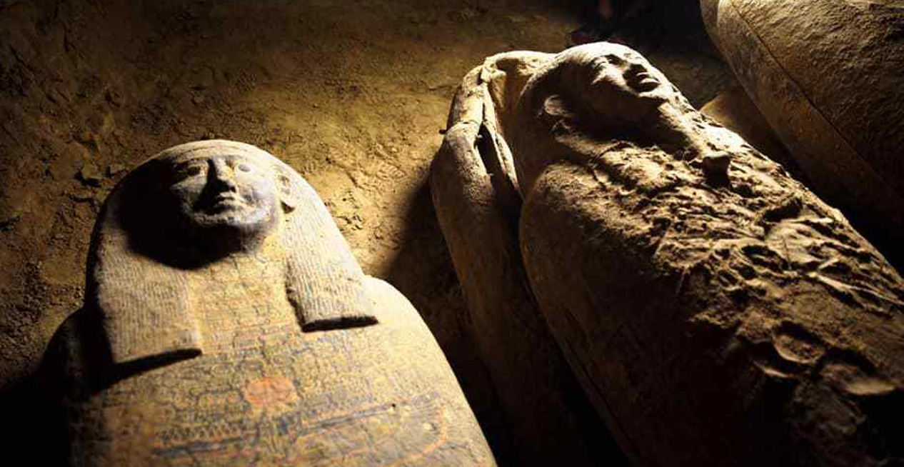 Egypt Discovers 13 Completely Sealed 2,500-Year-Old Coffins