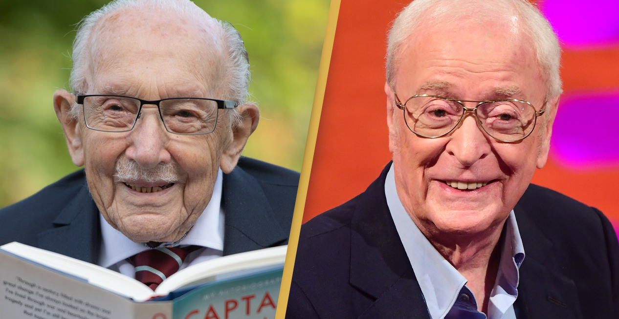 Captain Tom Moore Wants Sir Michael Caine To Play Him In Upcoming Movie