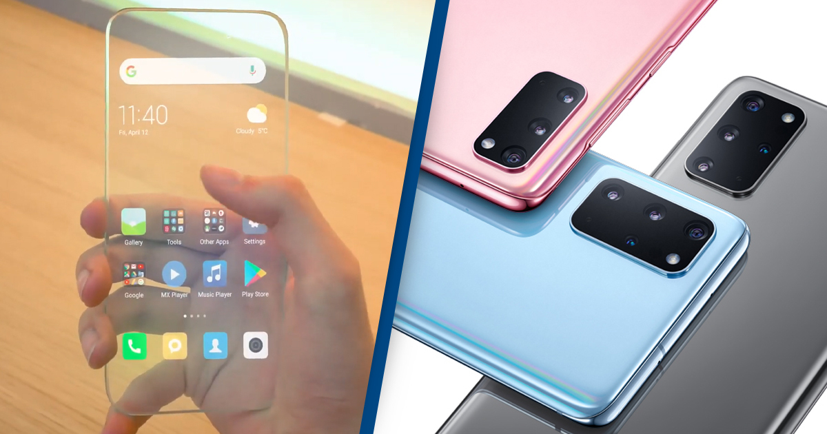 Samsung Is Developing A Fully Transparent Smartphone