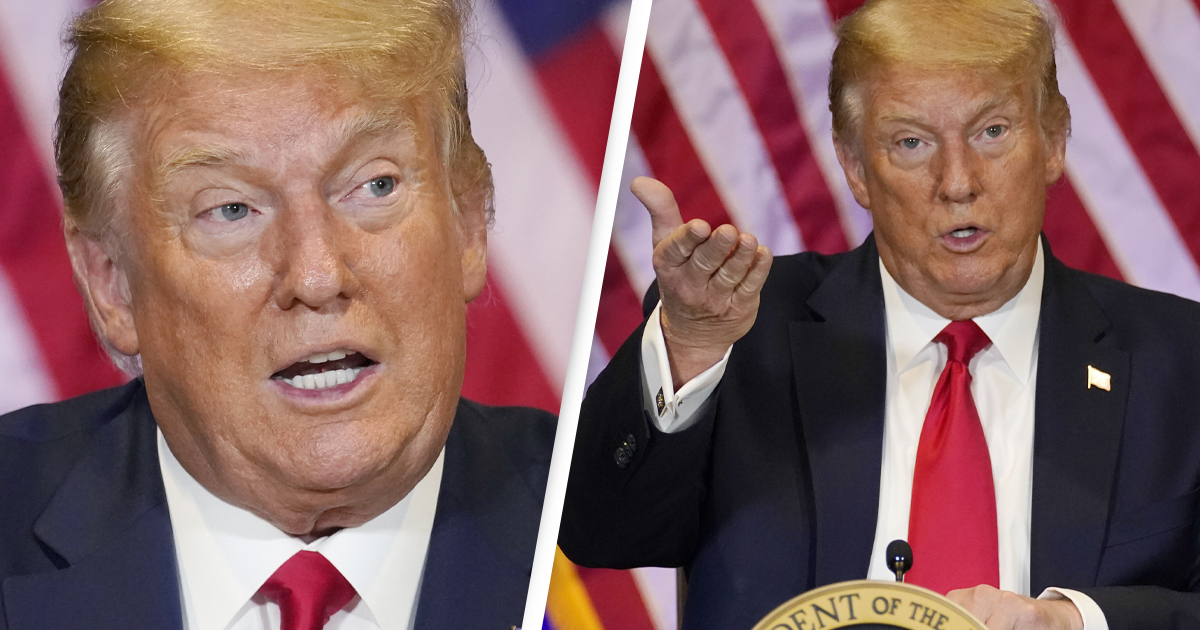 Trump Says He'll 'Negotiate' Third Term Because He's 'Entitled' To It