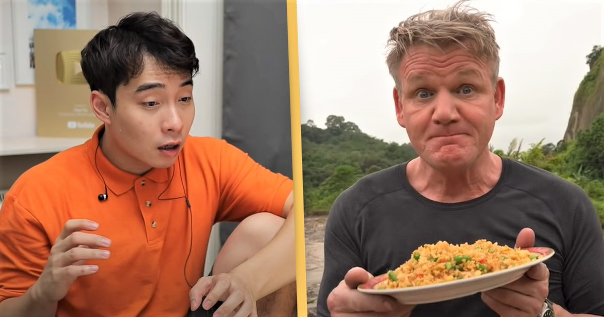 Uncle Roger Hilariously Reviews Gordon Ramsay's Egg Fried Rice