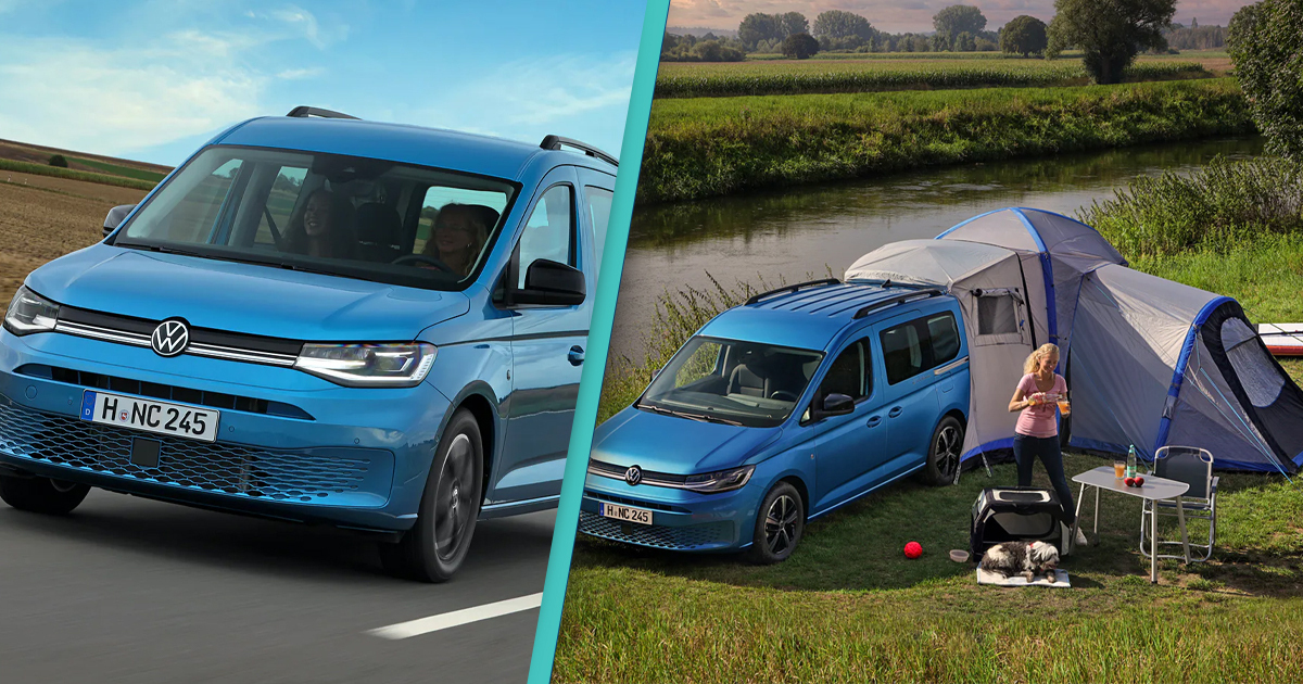 New Volkswagen Van Can Transform Into A Campsite On Wheels