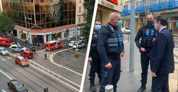 Three Dead And Multiple People Injured In Suspected Terror Attack In France