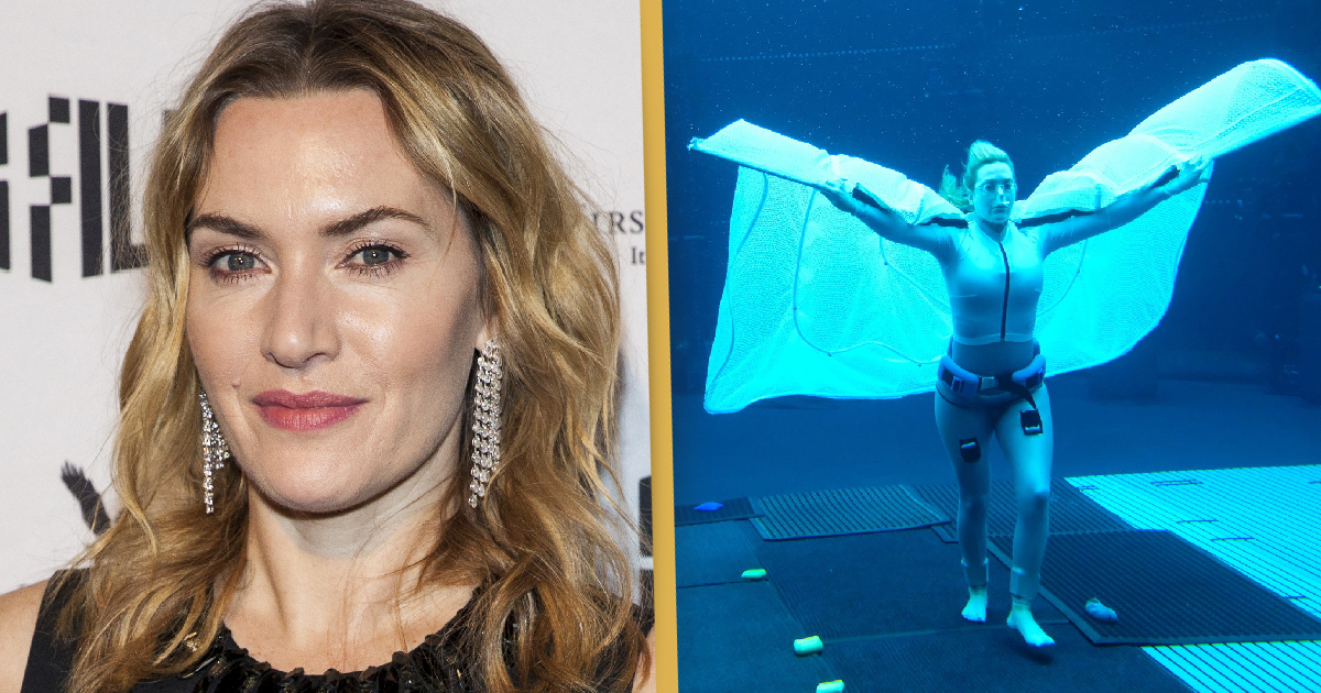 Kate Winslet Held Her Breath For Nearly Eight Minutes Underwater Filming Avatar 2
