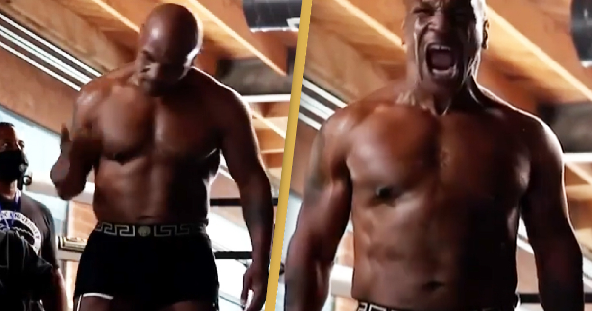 Mike Tyson Shows Off Incredible Transformation In New Training Video