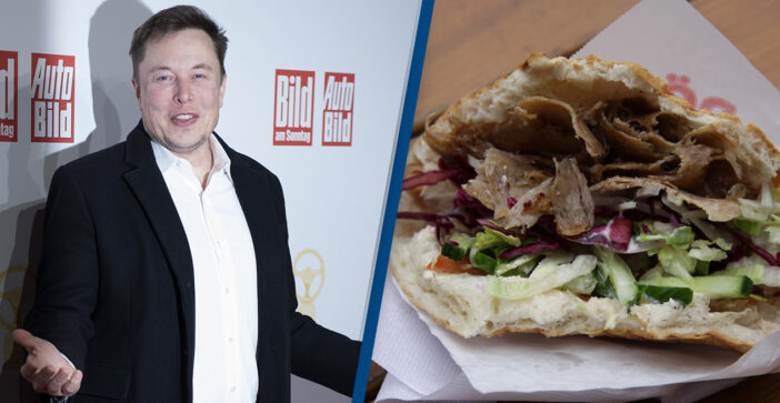Elon Musk Says One Of His Favourite Foods Is A Doner Kebab
