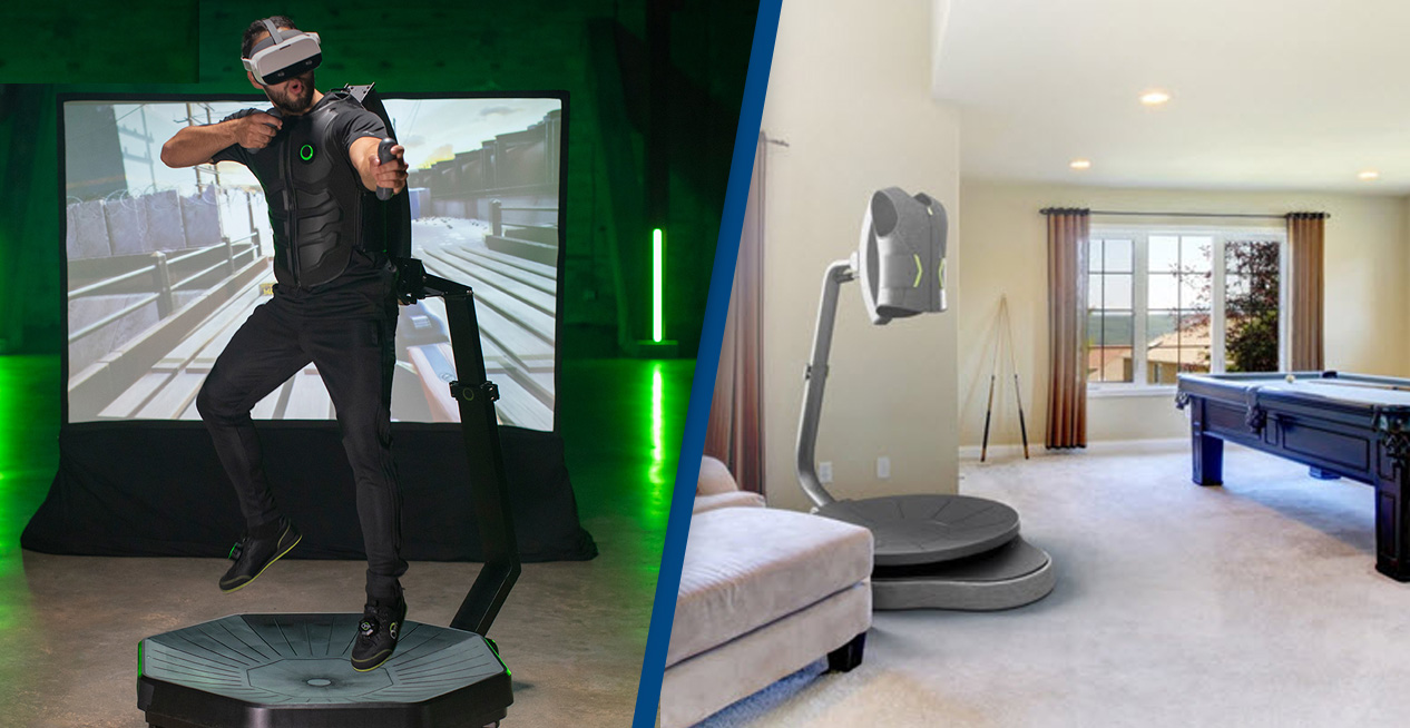 The Omni One Is A Virtual Reality Gaming Treadmill For Your Home