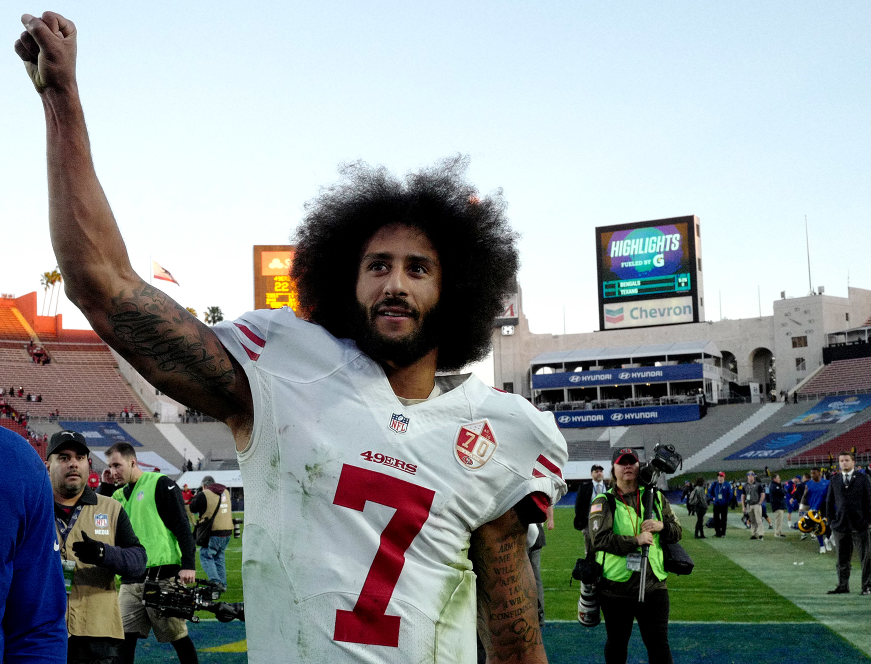 Colin Kaepernick Calls To Defund Police And Prisons