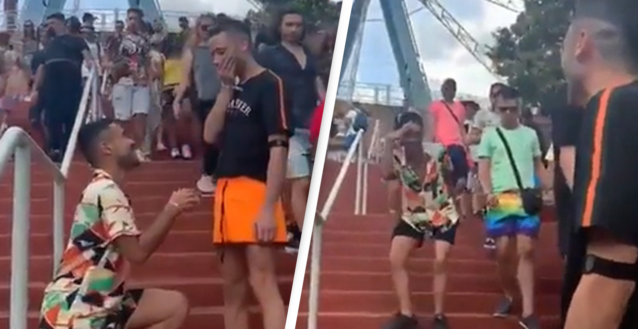 Man's Proposal Backfires In Best Possible Way