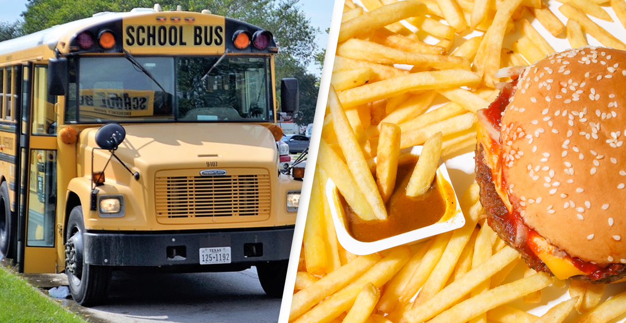 Drunk Bus Driver Took Students To Pick Up McDonald's