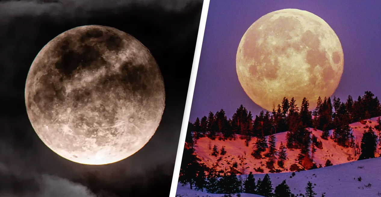 Rare 'Blue Moon' Visible Tonight Around The World For First Time In 100 Years