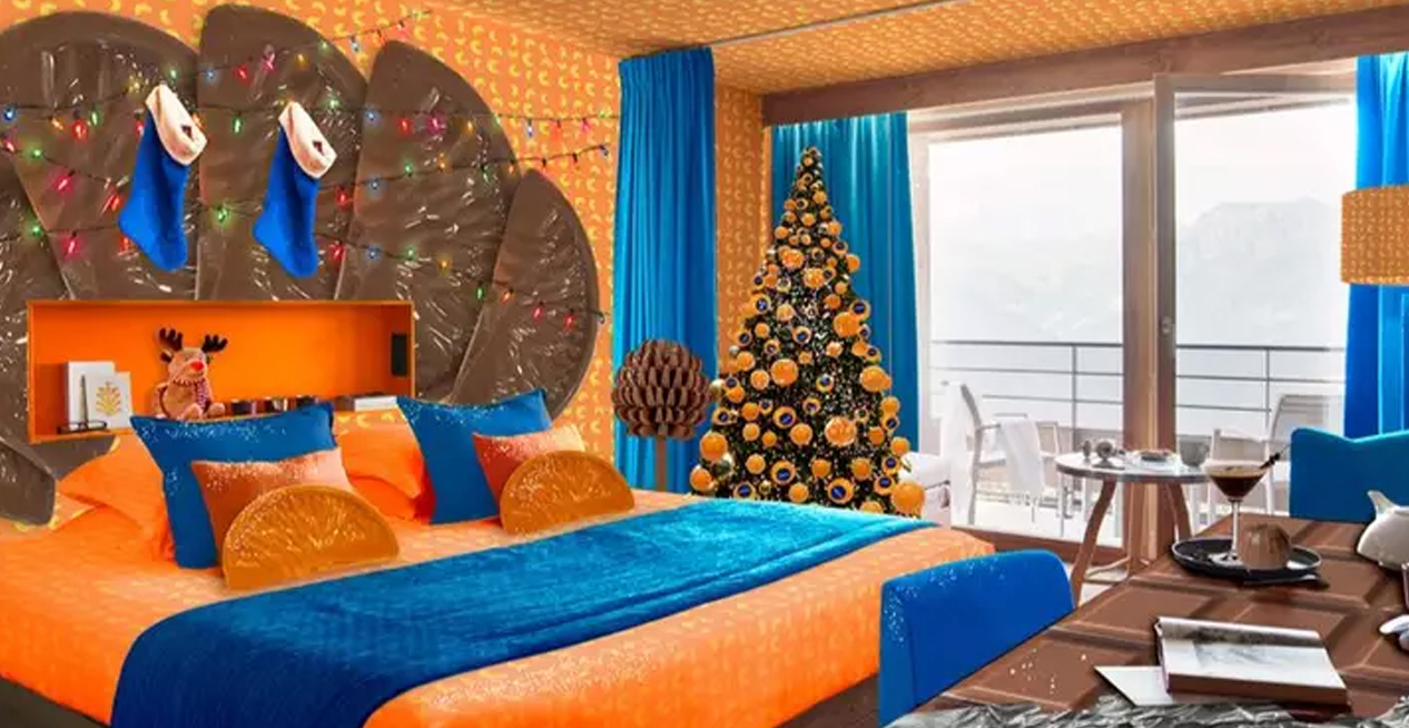 You Can Stay In A Chocolate Orange Themed Room For Christmas