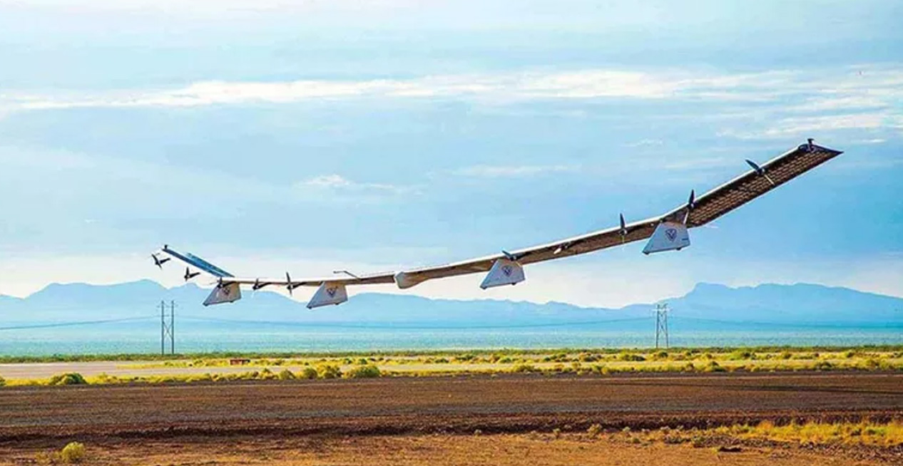 Amazing Solar-Powered Drone Is Also A Mobile Cell Tower