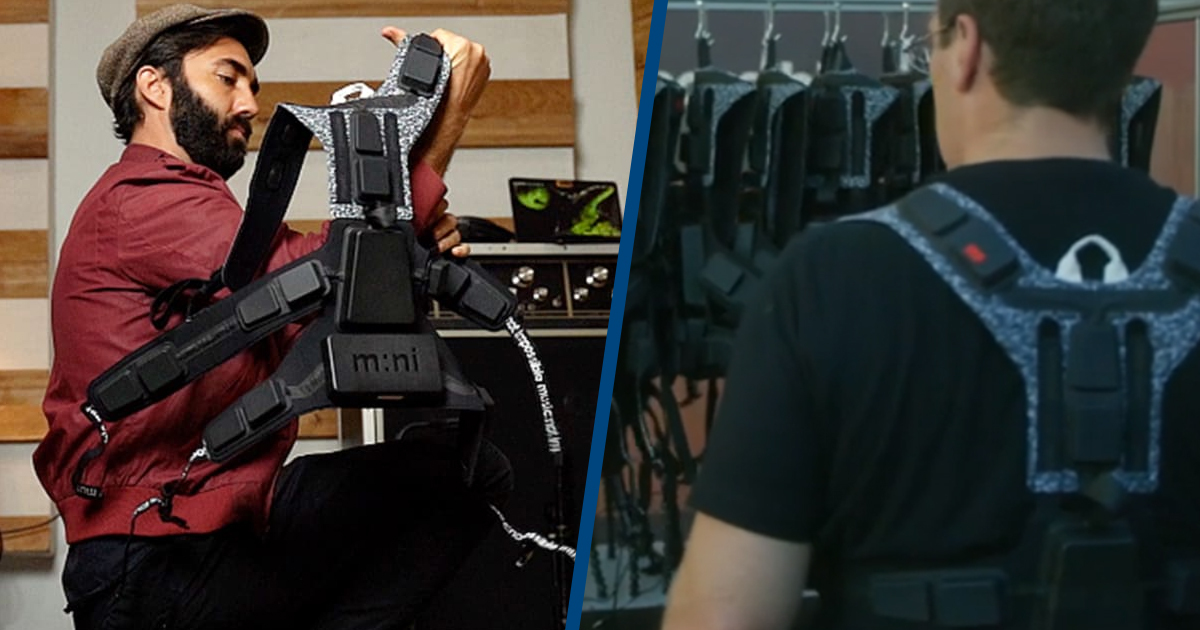 Vibrating Suit Allows Deaf People to Feel Music