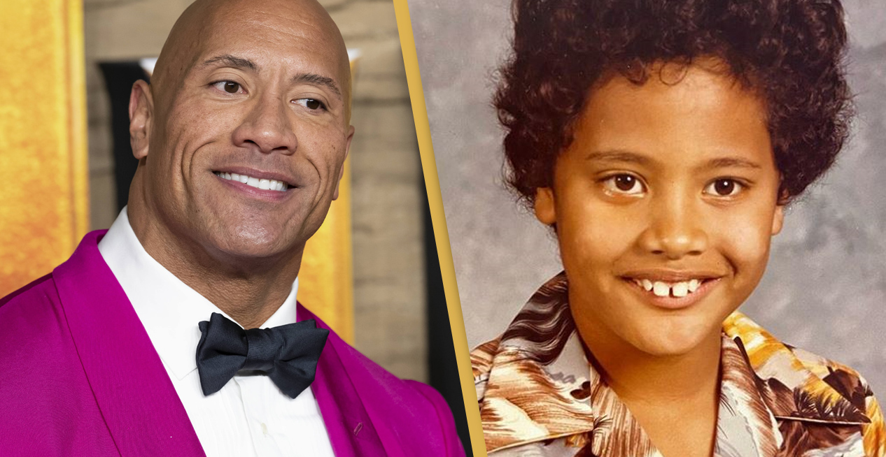 Dwayne The Rock Johnson Shocks Fans With Incredible Throwback Pic