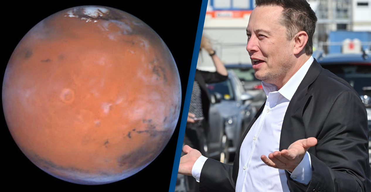 Elon Musk Plans On Bringing High Speed Internet To Mars