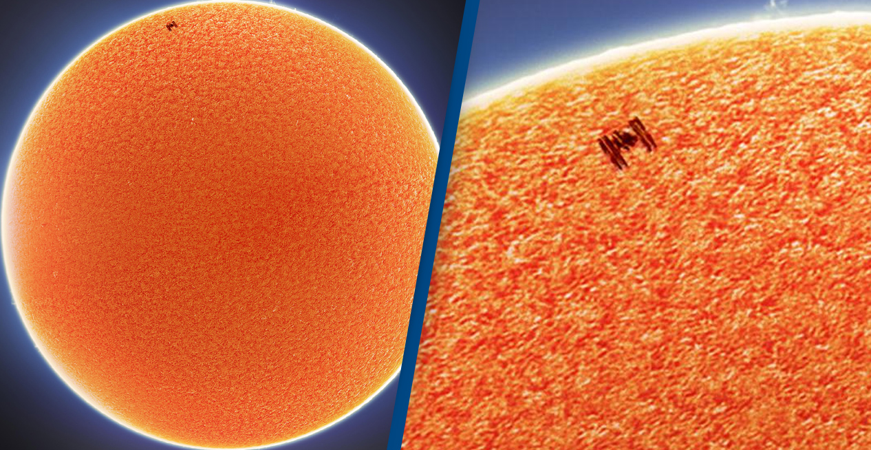 Incredible Photos Show ISS Crossing The Face Of The Sun