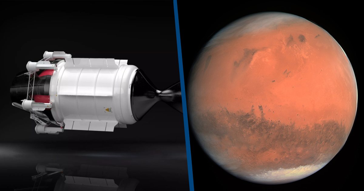 Nuclear Engine Could Launch 3-Month Trips To Mars