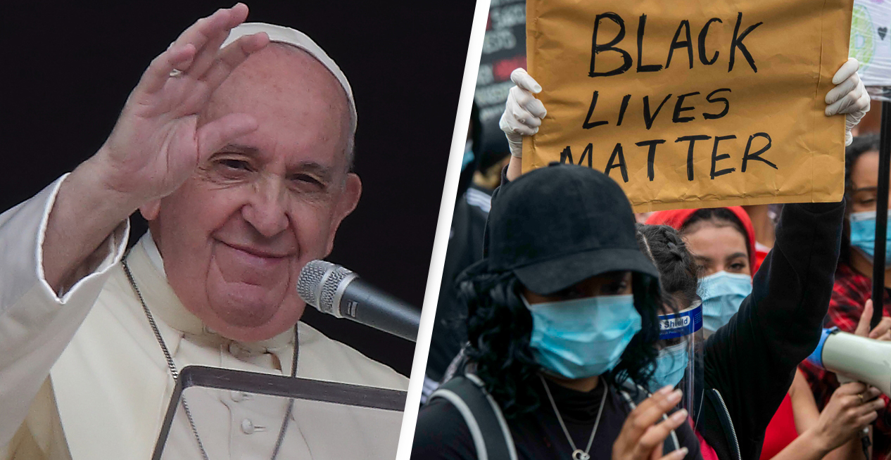 Pope Francis Says Racism Is 'A Virus'