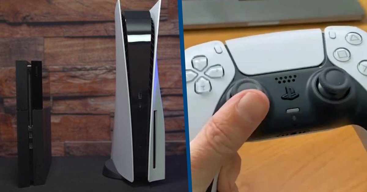 PS5 Unboxings Are Appearing Online And The Console Is Massive