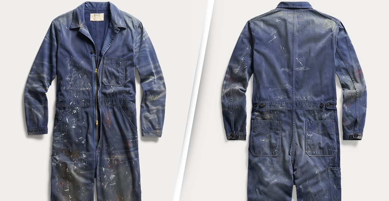 Ralph Lauren Is Selling £620 Overalls Covered In Fake Paint Splats