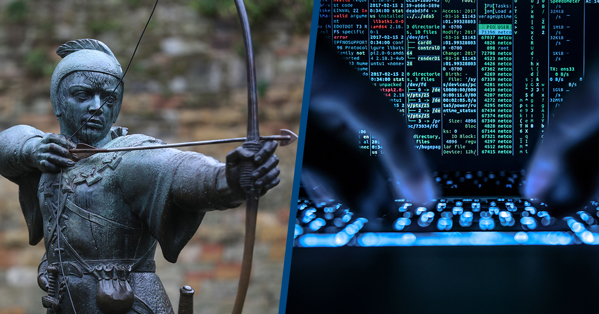 'Robin Hood' Hackers Are Donating Stolen Money To Charity