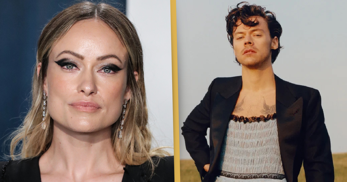 olivia wilde defends harry styles dress on history making vogue cover unilad olivia wilde defends harry styles