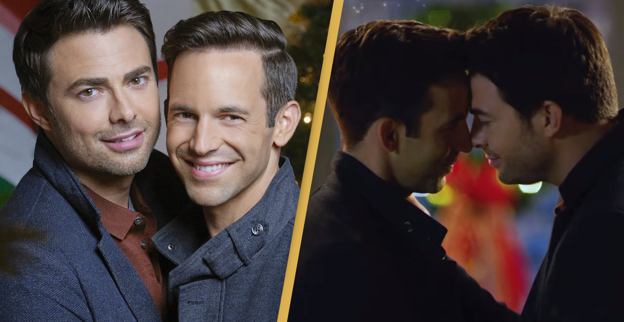 Hallmark Is Releasing Its First Christmas Movie With Gay Leading Couple