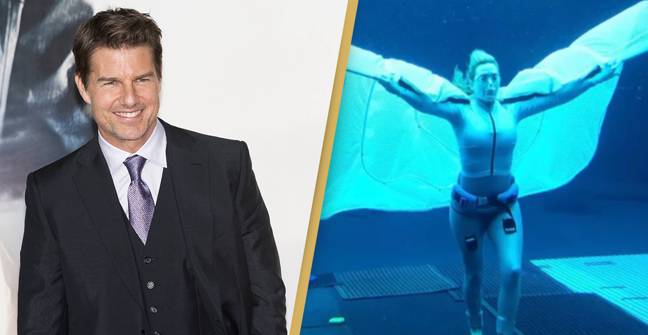 Kate Winslet Beats Tom Cruise's Underwater Record In Avatar 2