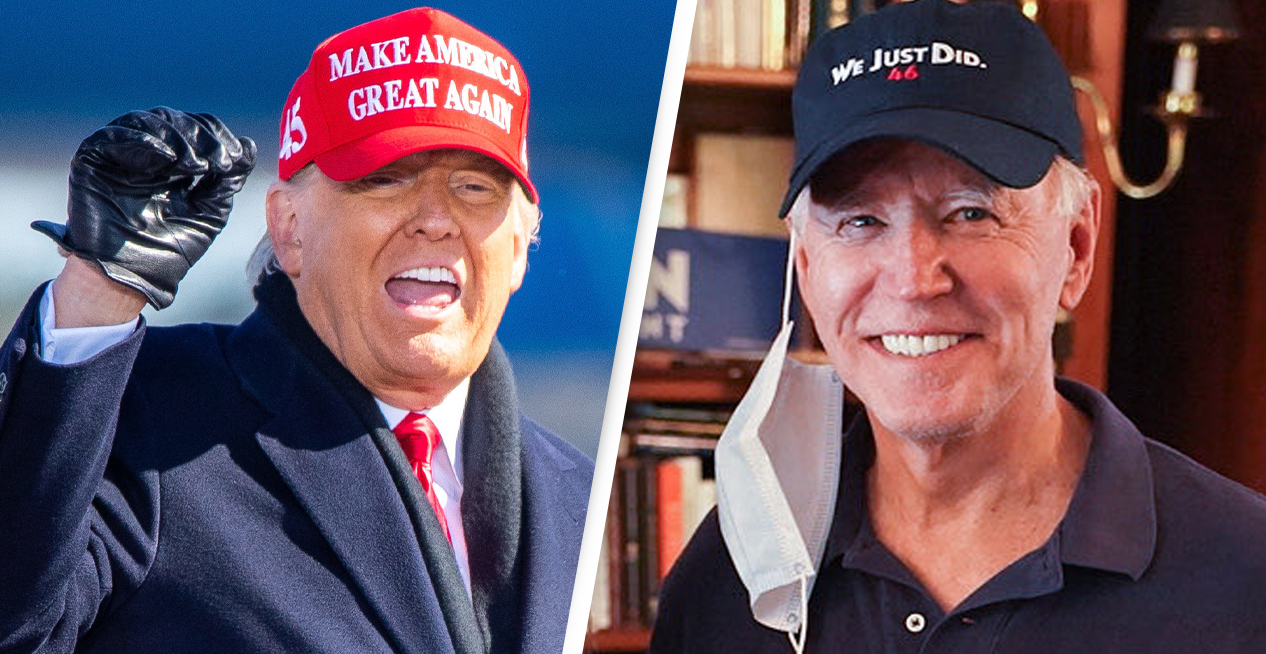 Joe Biden Has Already Replaced Trump's MAGA Slogan With His Own Hat