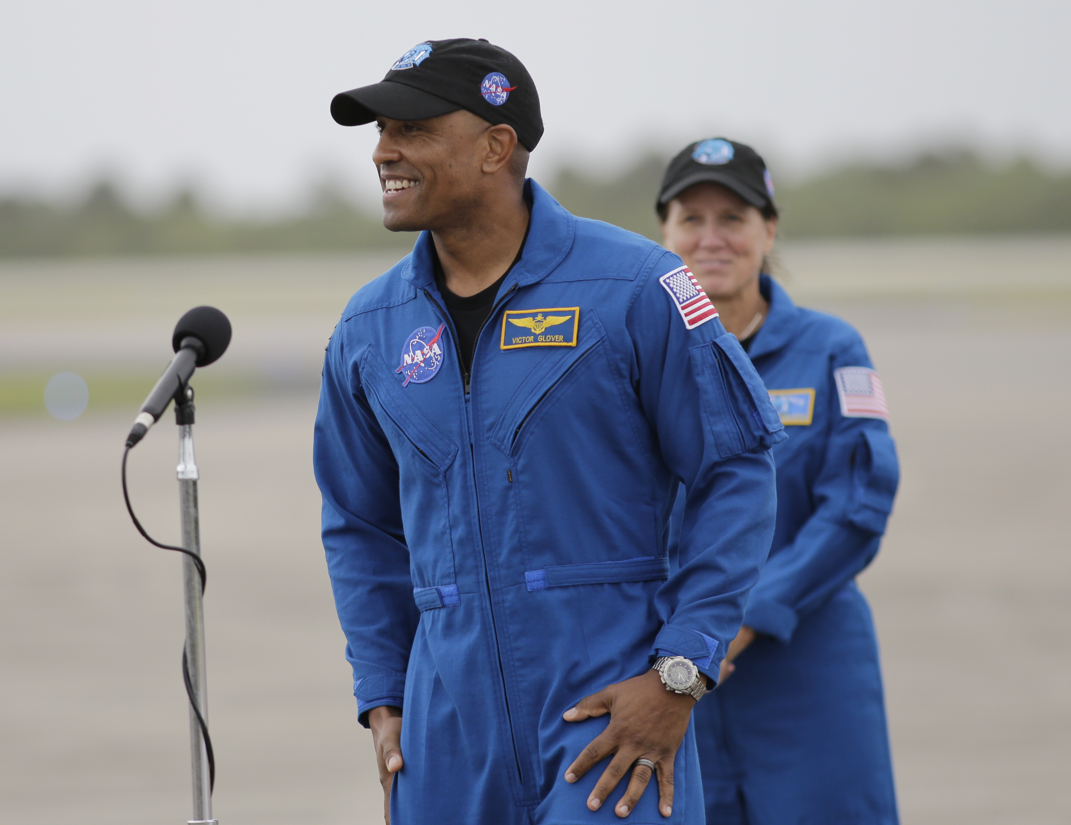 SpaceX Crew Launch Victor Glover