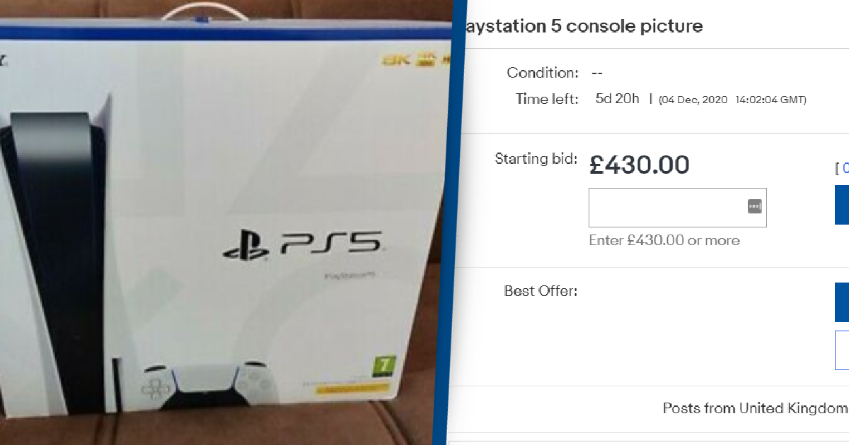 eBay To Take Action On PlayStation 5 Scammers