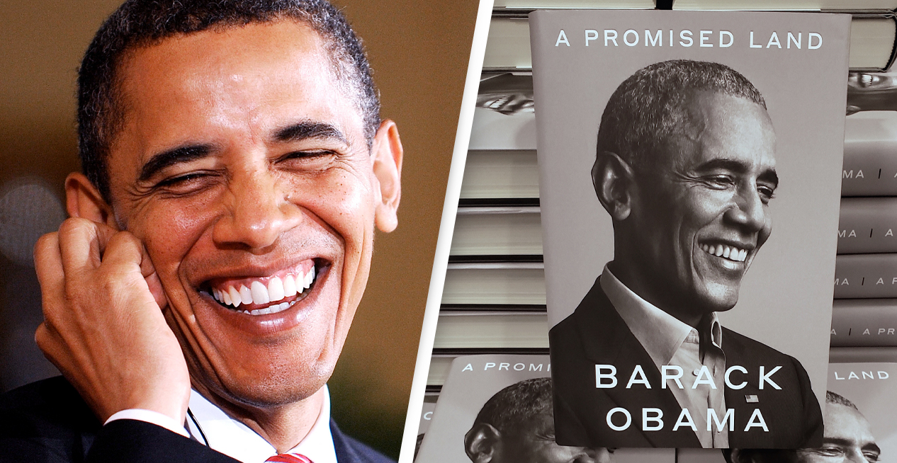 Barack Obama's New Book Sells Over 1.7 Million Copies In Its First Week