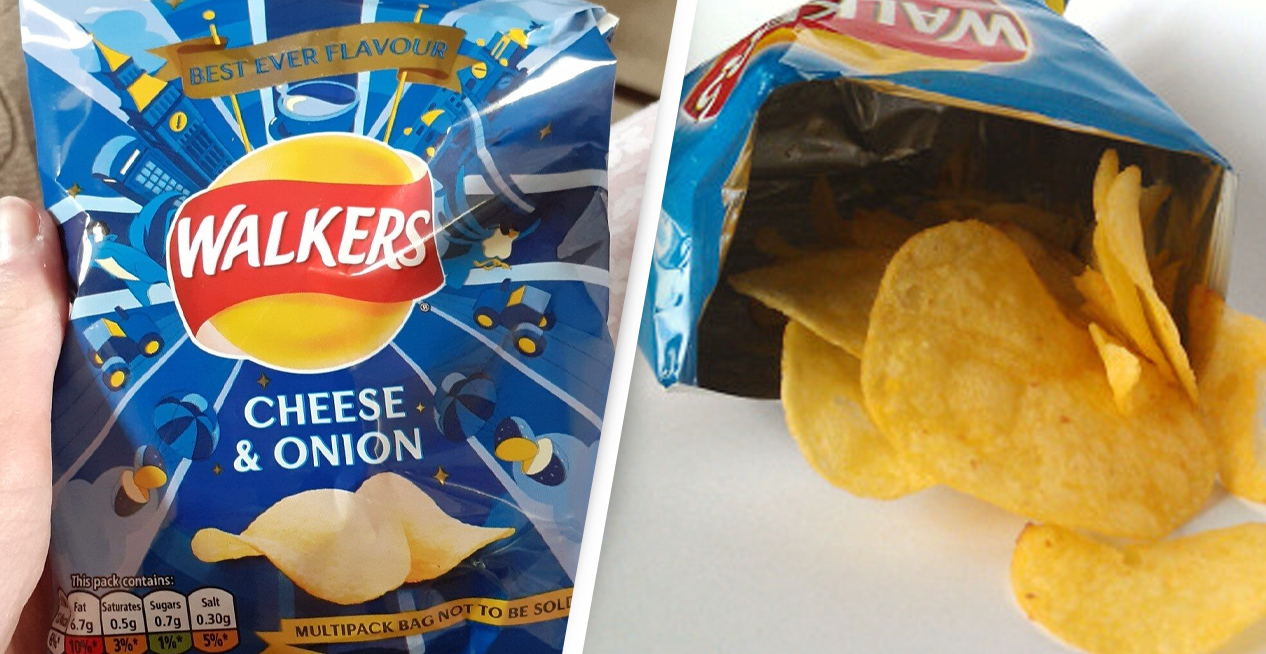 Walkers Cheese And Onion Voted Best Crisps In New Poll