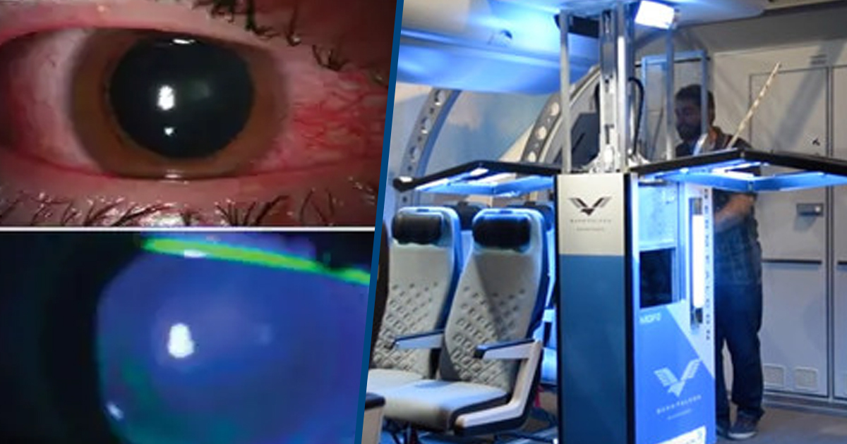 Doctors Say UV Germ Lamps Are Burning People's Eyes