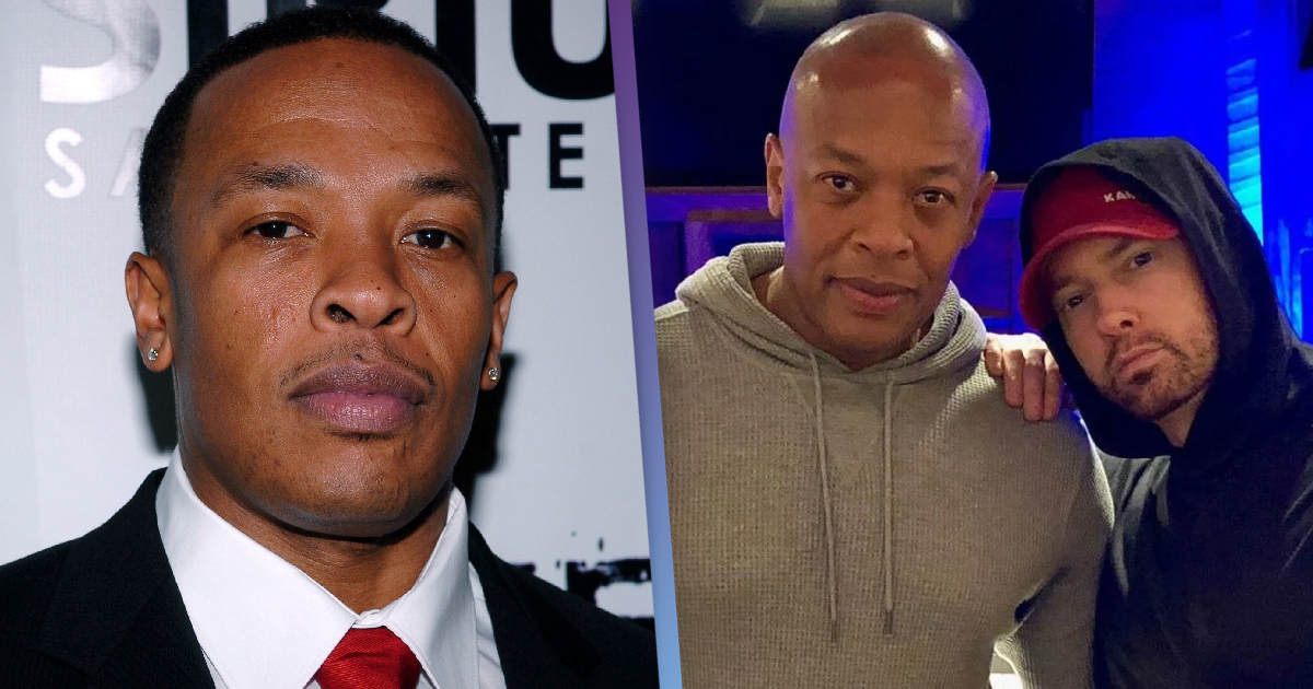 Dr. Dre Has Reportedly Finished His New Album And Eminem's Involved