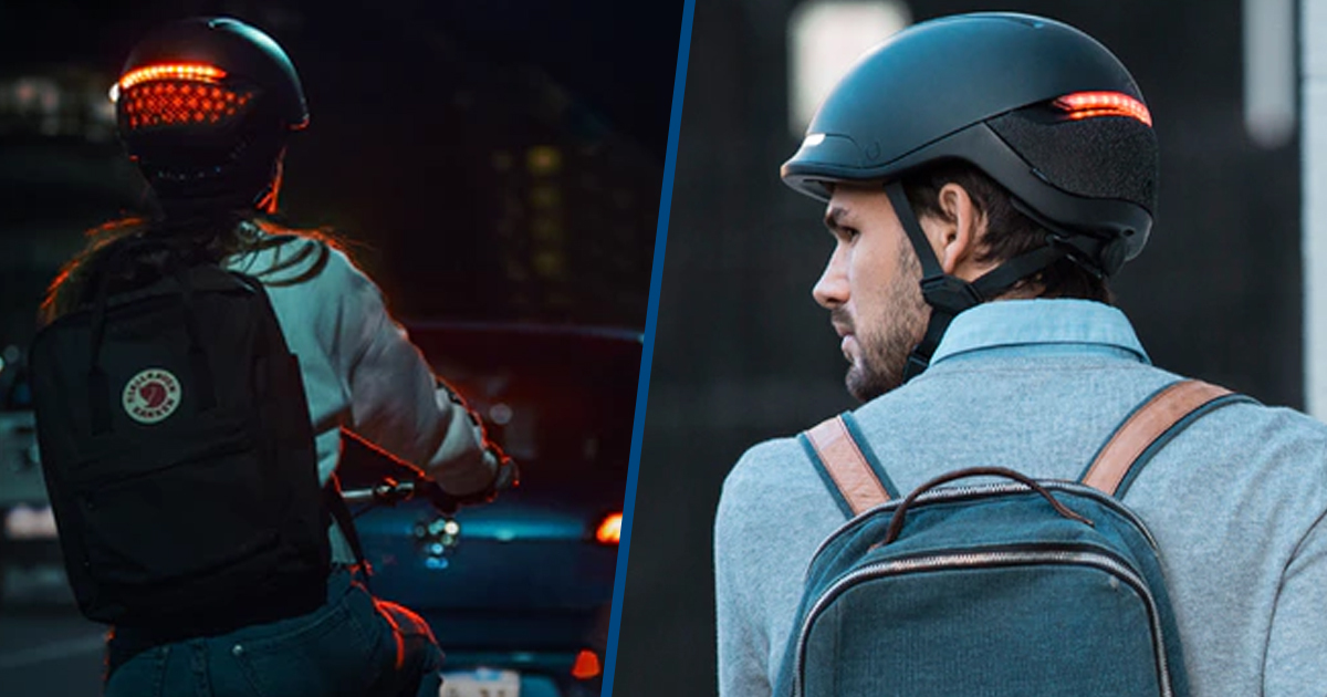 This Smart Helmet Comes With A State Of The Art Lighting And Signalling System