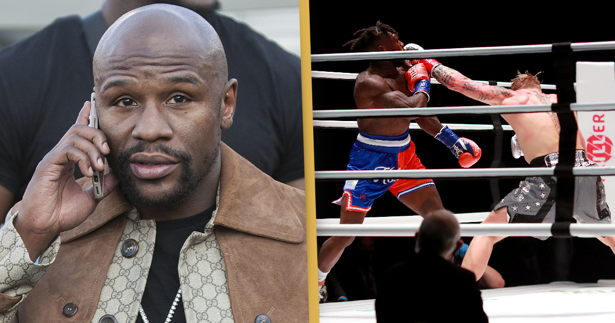 Floyd Mayweather Is 'Proud' Of Nate Robinson Despite Jake Paul Knockout