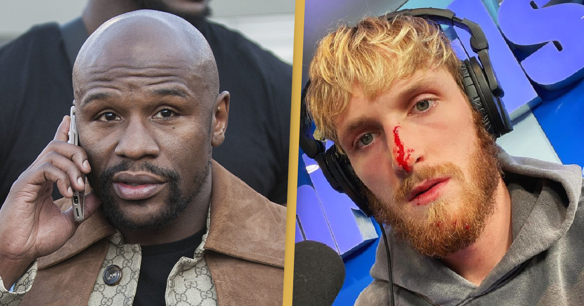 Floyd Mayweather Agrees To Fight Logan Paul, Promises 'Same Treatment' As McGregor