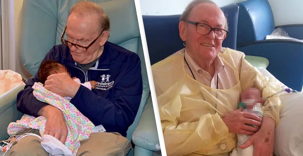 Granddad Who Cuddled Intensive Care Babies For 14 Years Dies Aged 86