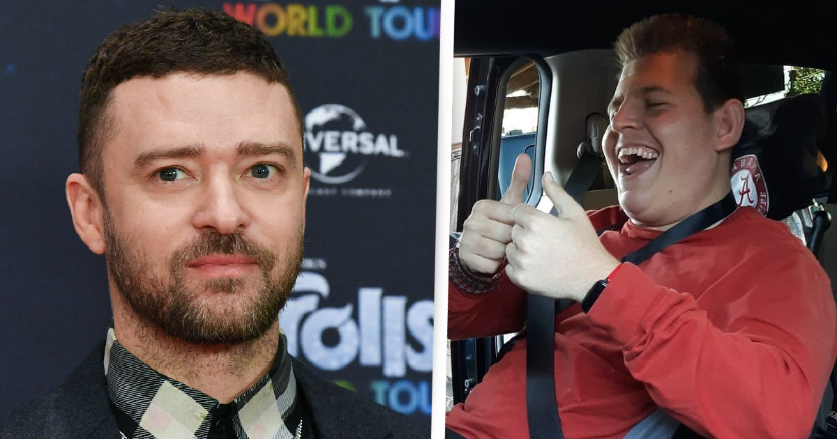 Justin Timberlake Gives $35,000 Wheelchair-Accessible Van To Disabled Teen