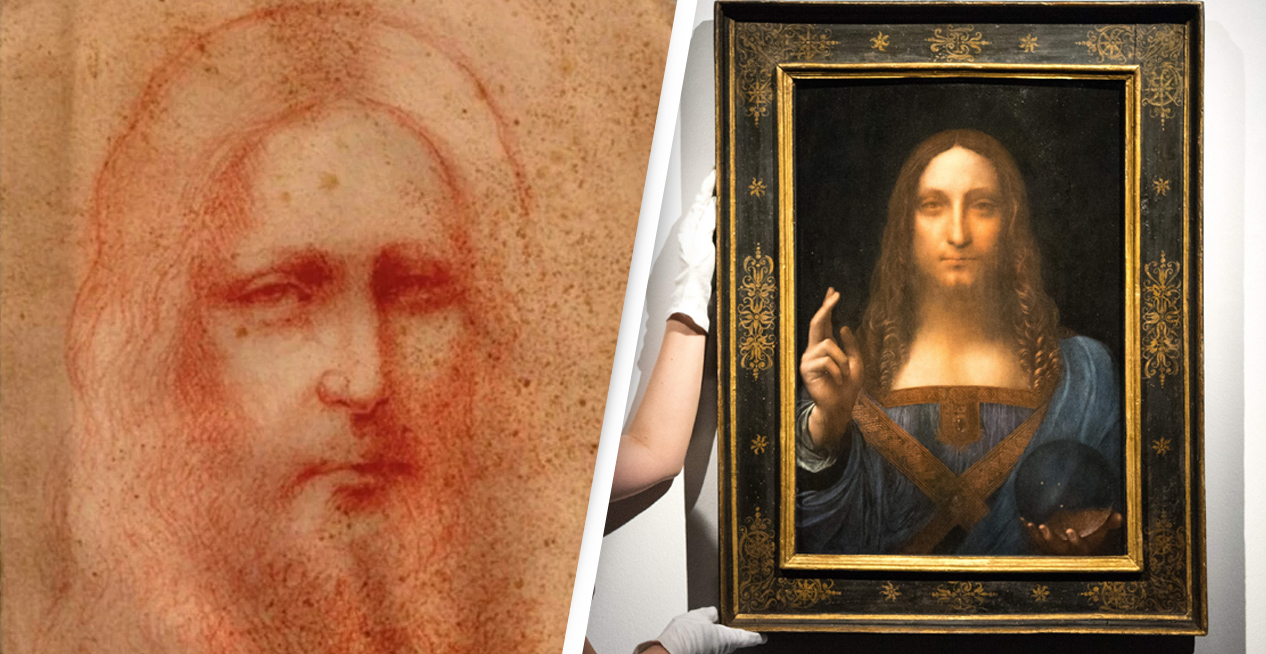 Newly Discovered Sketch Of Christ Likely An Unknown Masterpiece By Da Vinci