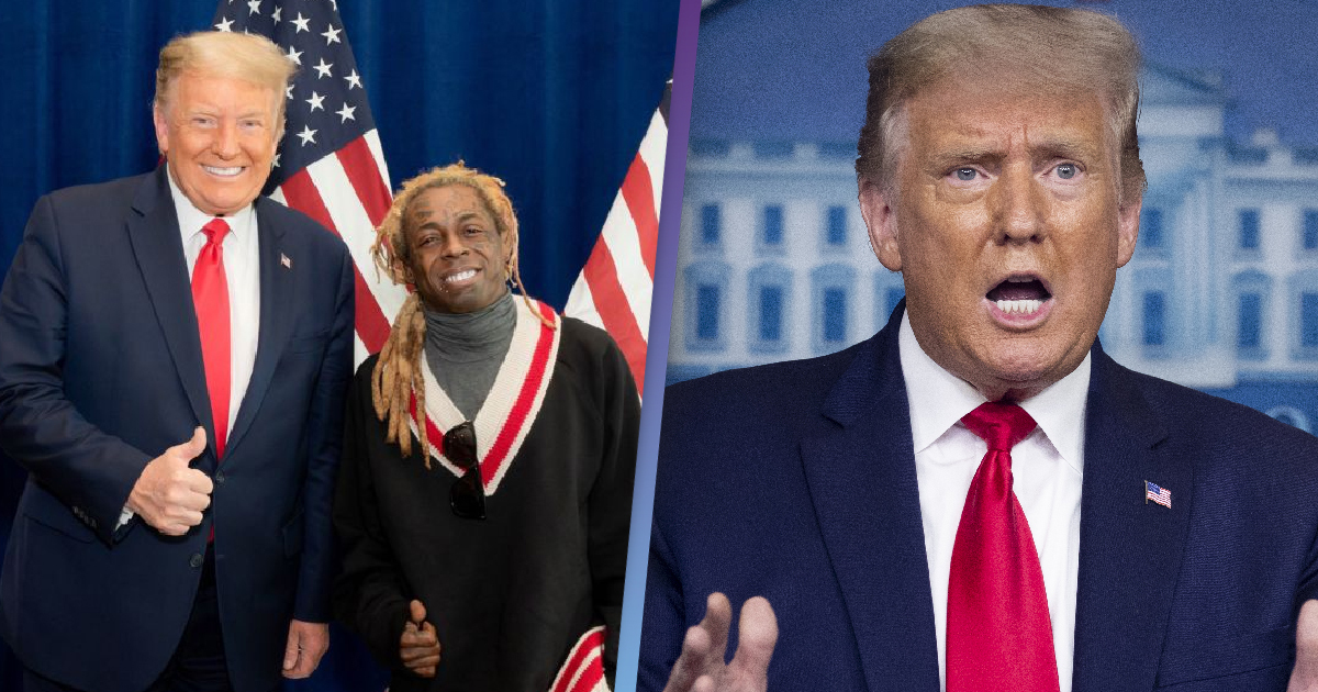 Lil Wayne Shouts Out Trump On New Song Despite Biden Win