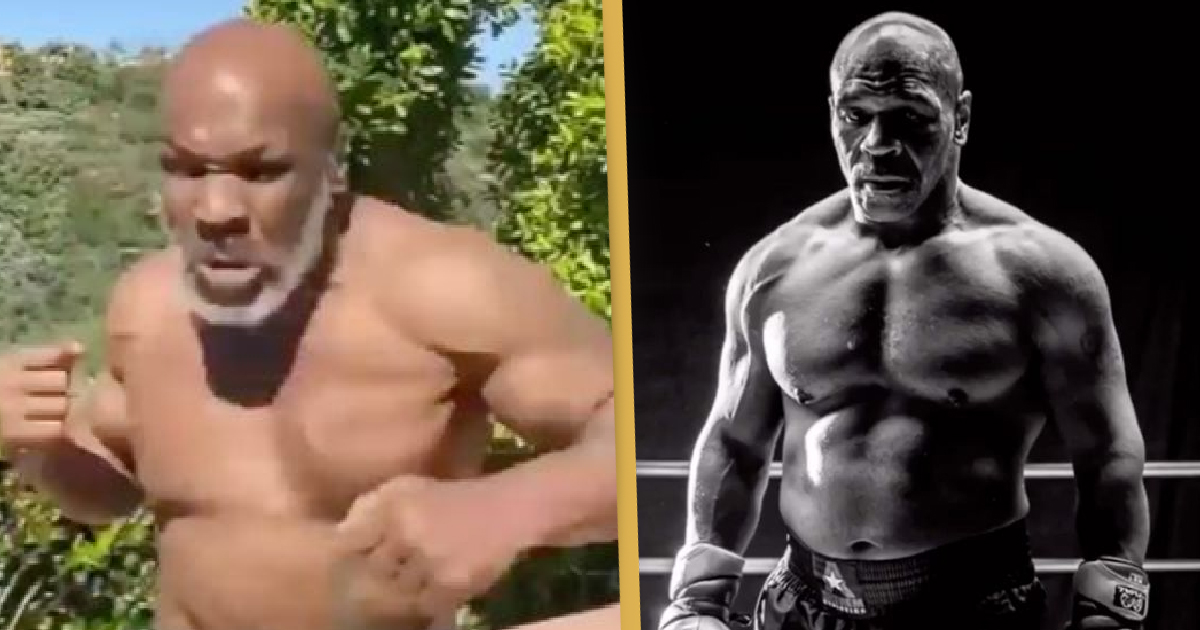 Mike Tyson Shows Off Physical Transformation Ahead Of Historic Return To Boxing