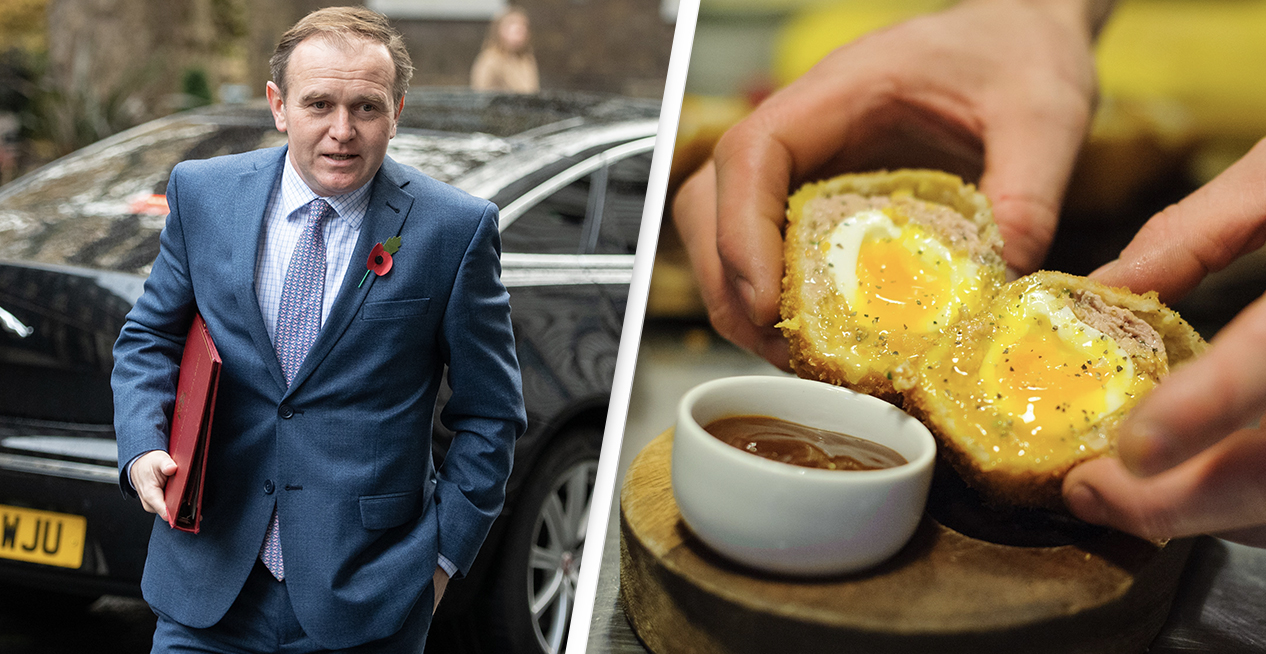 Minister Says A Scotch Egg Could Count As A Substantial Meal In Pub