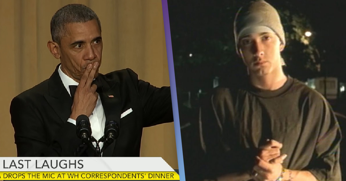 Barack Obama Says Eminem's Lose Yourself Helped Him When He Was President