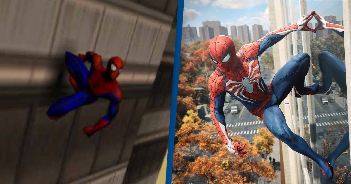 Spider-Man PS1 Vs. PS5 Shows How Far We've Come In Gaming