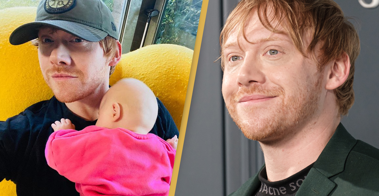 Rupert Grint Joins Instagram To Share First Photo Of Daughter Wednesday