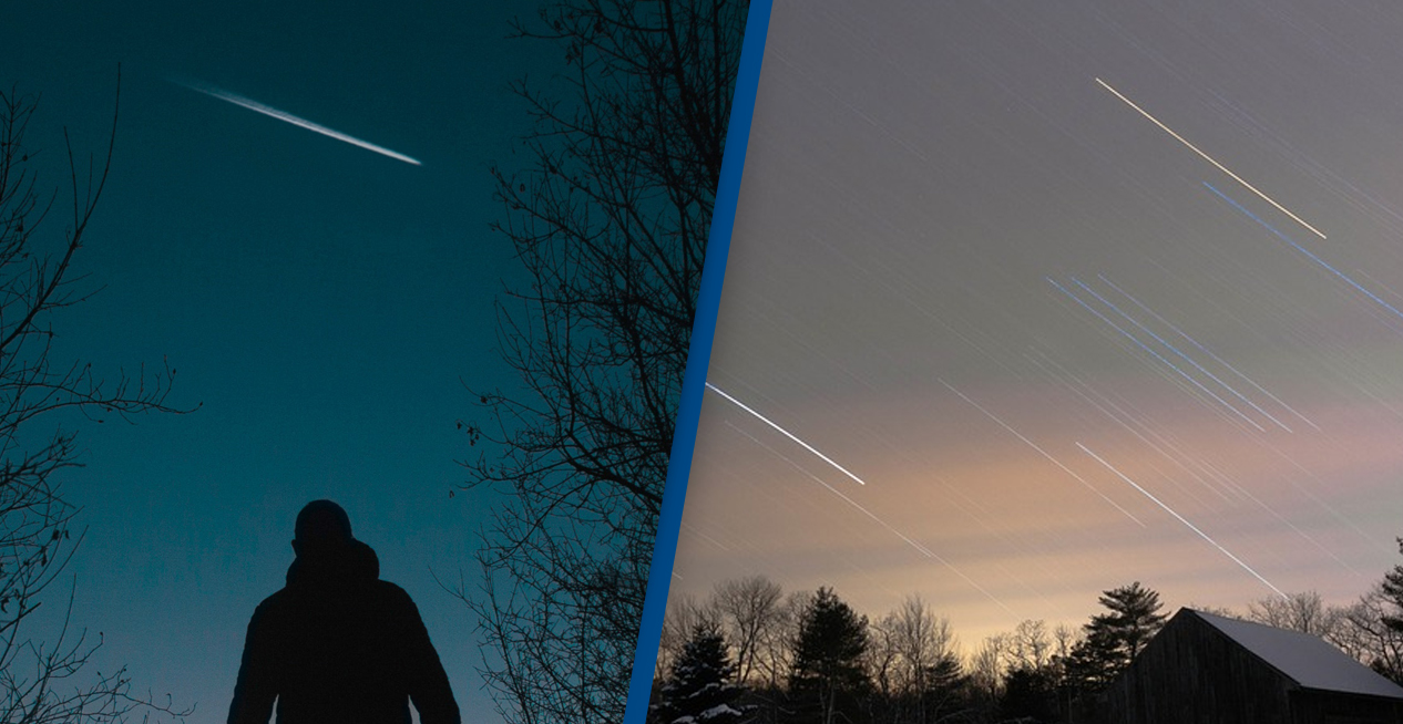 Stunning Leonid Meteor Shower To Light Up The Sky Tonight
